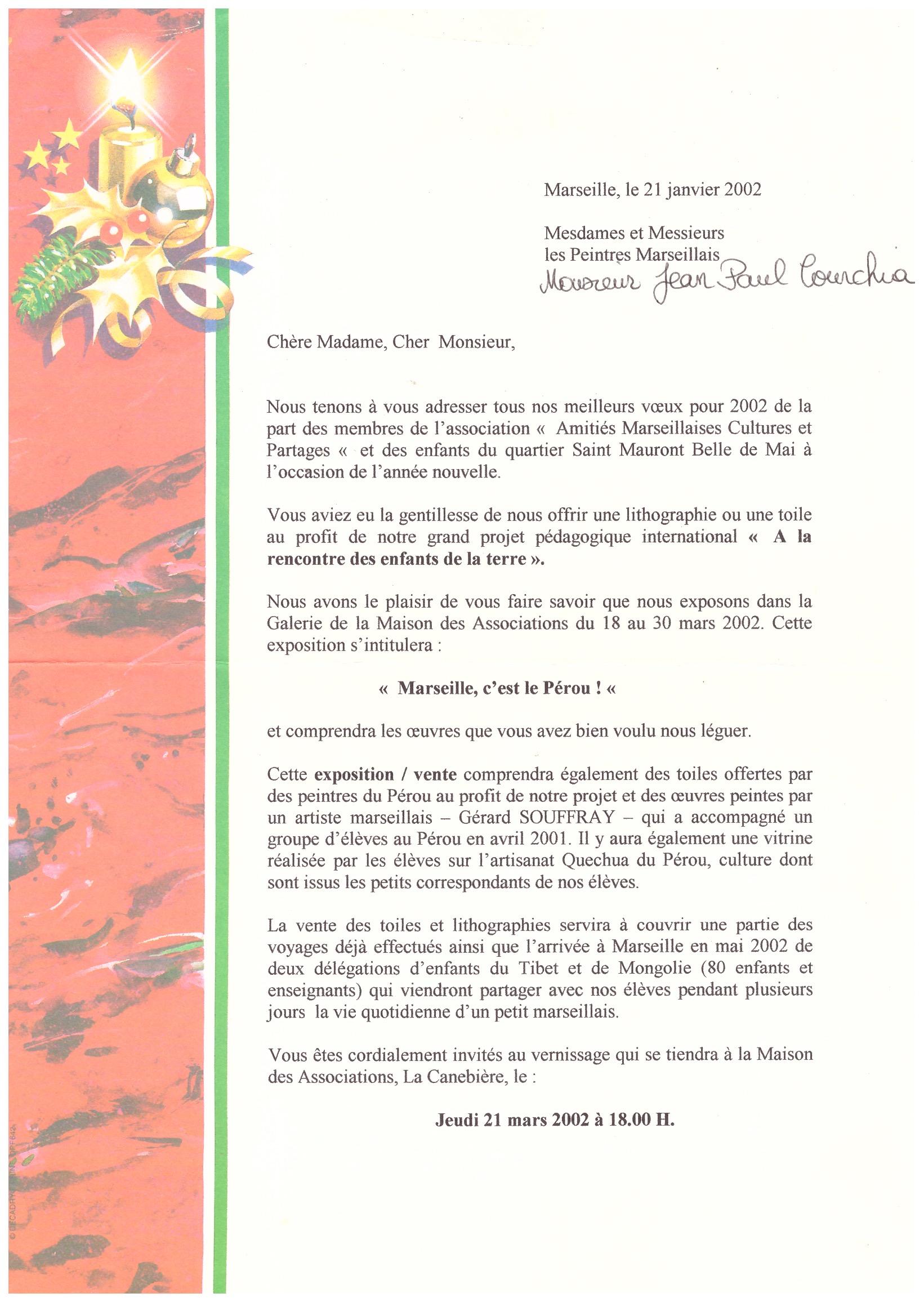 2002 AMITIES MARSEILLAISES 1