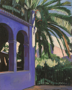 La facade bleue