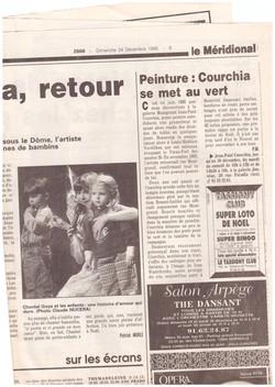1995 COURCHIA SE MET AU VERT