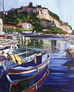 barque_bleue_à_Cassis