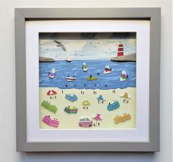 Cornish-sea-glass-beach-scene