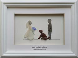 Bride, Groom & Luna