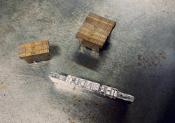 Ludlow cast type for letterpress printing