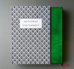 New bookbinding with custom slipcase