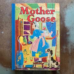 Rebound book of Mother Goose nursery rhymes
