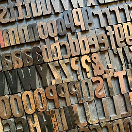 letterpress wood type in milwaukee wisconsin