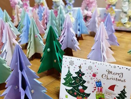 もうすぐクリスマス!着々と準備が進んでいます