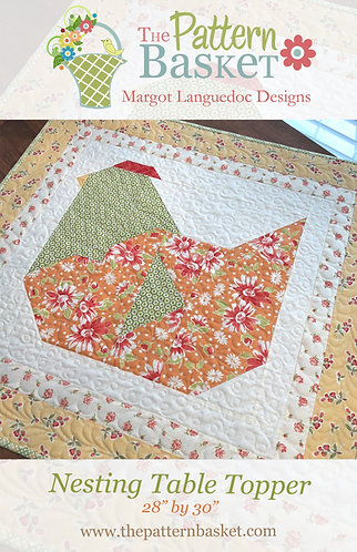 Nesting Table Topper PDF