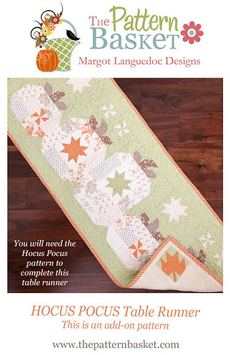 Hocus Pocus Table Runner (Add-On) PDF