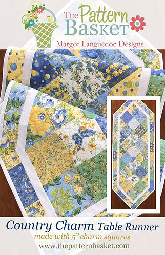 Country Charm Table Runner PDF