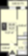 Цветочная, 7/1, кв 18, общая S = 29.9, кухня = 7м, высота потолков 2.75, цена 1 950 000 р.