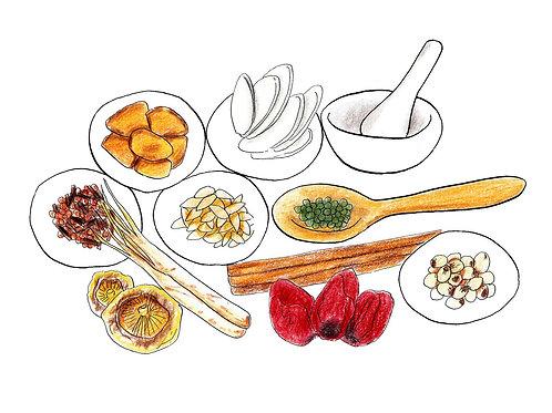 夏季集中ゼミ ③ 食べて健康になる食養生 五味、食性、食薬の使い方