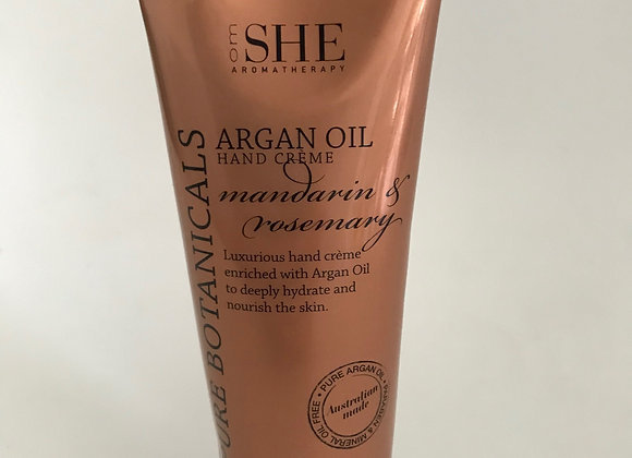 Argan Oil Hand Cream - Mandarin & Rosemary