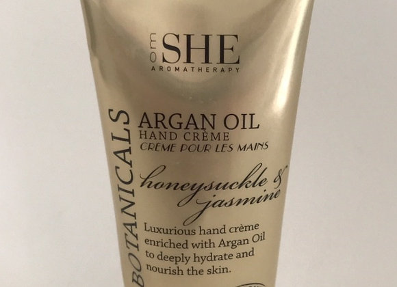 Argan Oil Hand Cream - honeysuckle & jasmine