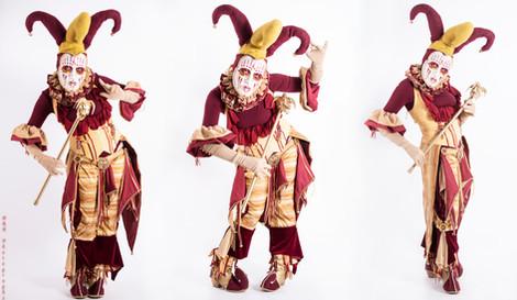 Harlequin Renaissance Jester