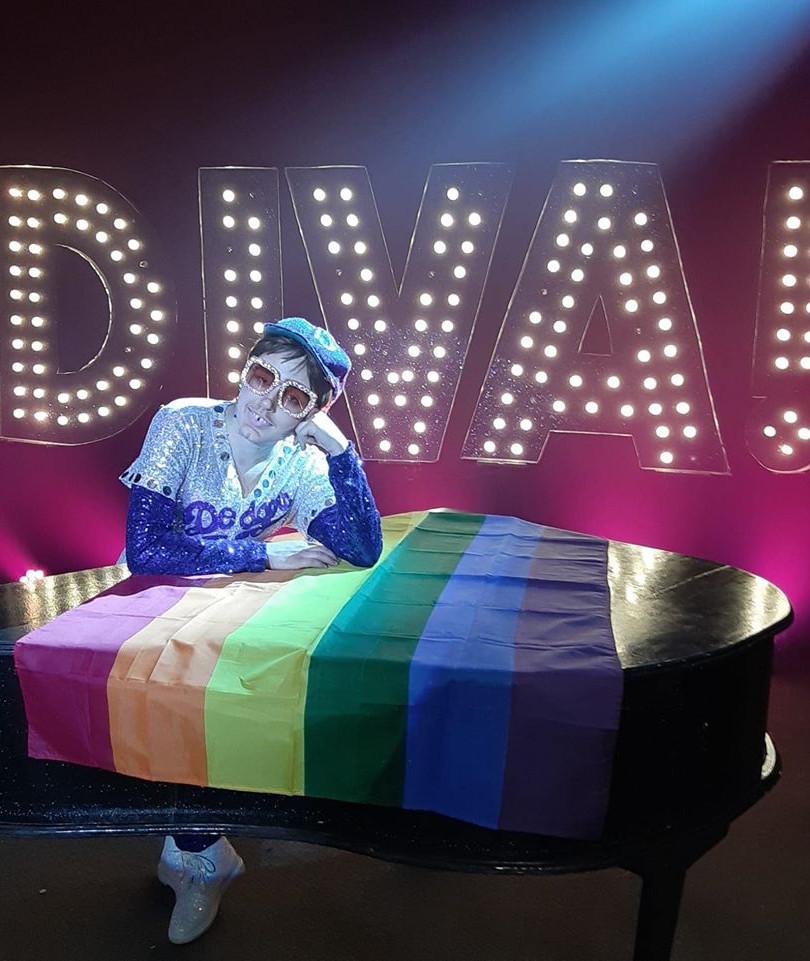 Sir Elton John Pride taken for The Viva