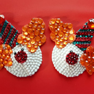 Custom Can-Can Clown Pasties
