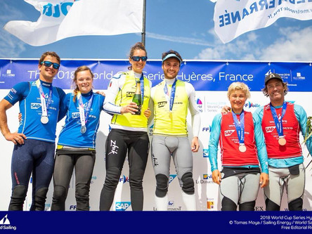 Silver in World Sailing Hyeres