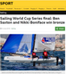 BBC News - Sailing World Cup Series final: Ben Saxton and Nikki Boniface win bronze