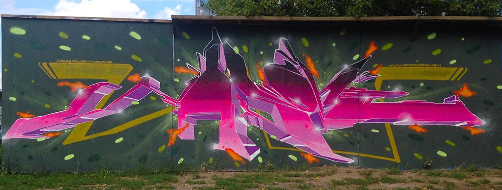 Graffiti malba
