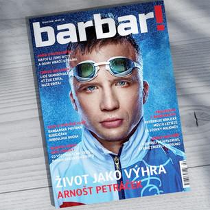 Vizuální identita a titulka časopisu