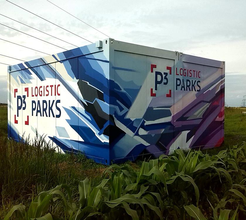 Graffiti malba na zakázku - outdoor reklama