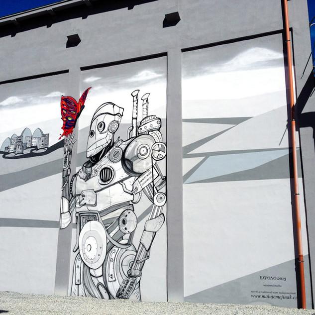 Mural Art for Technology Company