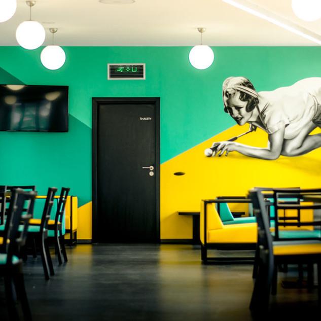 Graffiti Interior - Bar