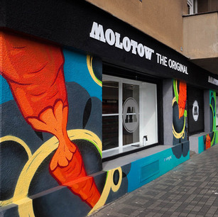 Graffiti Shop Exterior