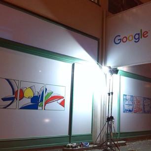 Google - Graffiti Exhibition - 10 Years in Czech Republic