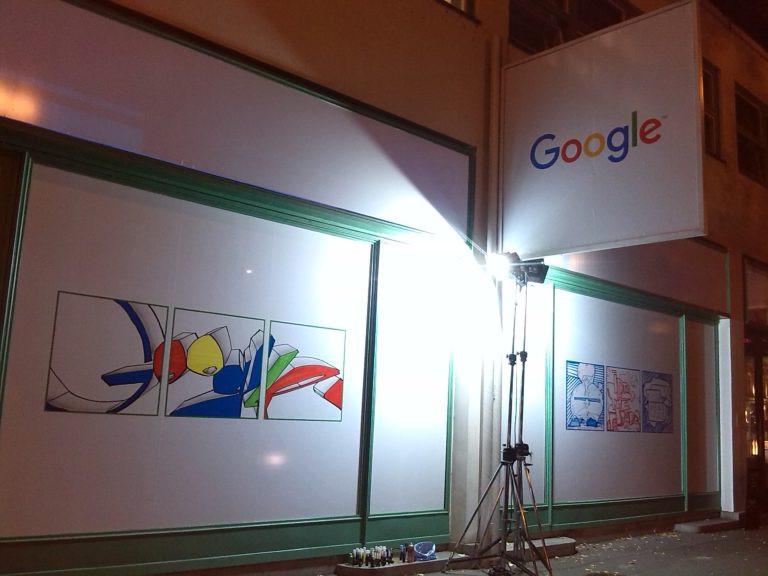 Google - graffiti exhibice