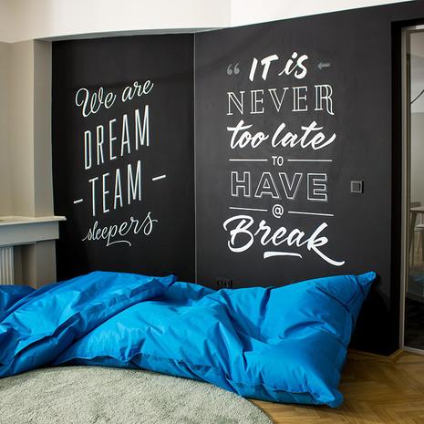 Kreativní ložnice