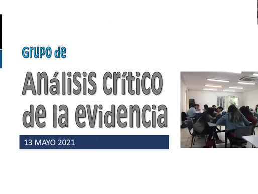 Invitación a integrarse al Grupo de Análisis Crítico de la Evidencia de facultad