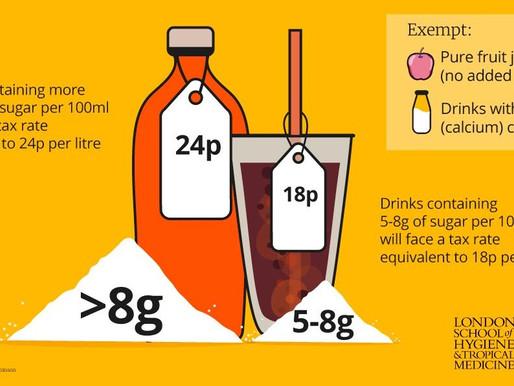 Impuestos a gaseosas redujeron el consumo de azúcar