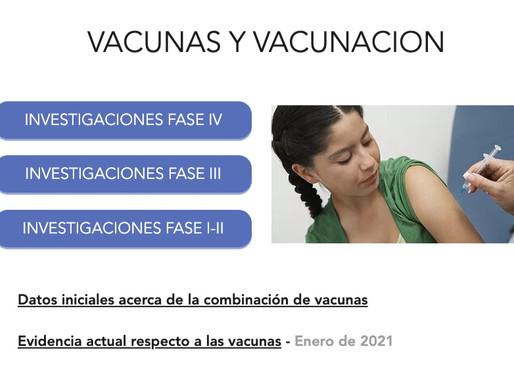 Covid-19: Toda la evidencia sobre vacunas