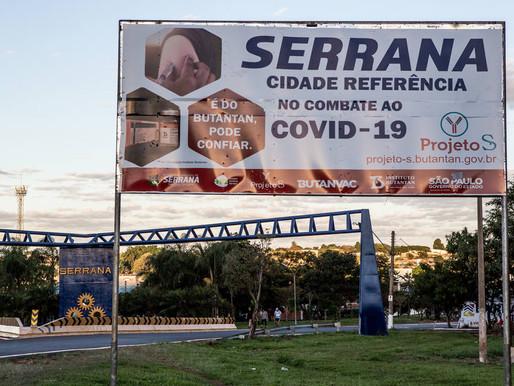 Resultados de la vacunación en una localidad de Brasil
