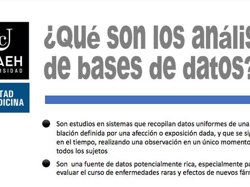 ¿Qué son los análisis de bases de datos?
