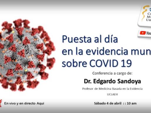 Puesta al día en la evidencia mundial sobre covid-19