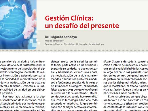 Gestión clínica: un desafío del presente