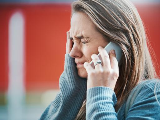 Comunicando malas noticias por teléfono
