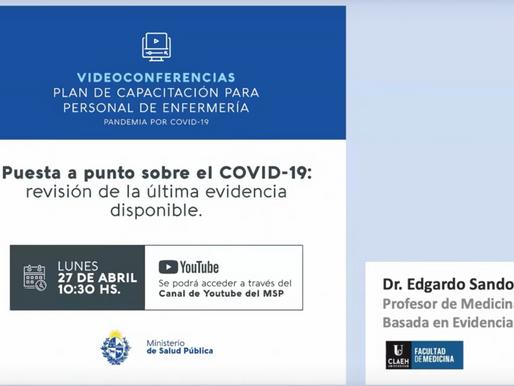 Puesta a punto en covid-19: revisión de la última evidencia disponible
