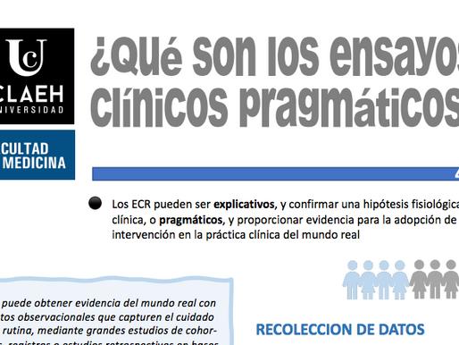 ¿Qué son los ensayos clínicos pragmáticos?