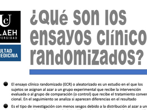 ¿Qué son los ensayos clínicos randomizados?