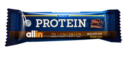 חטיף חלבון ALL IN
