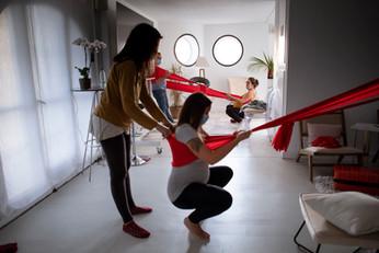 Movimiento y trabajo corporal al parto en pareja