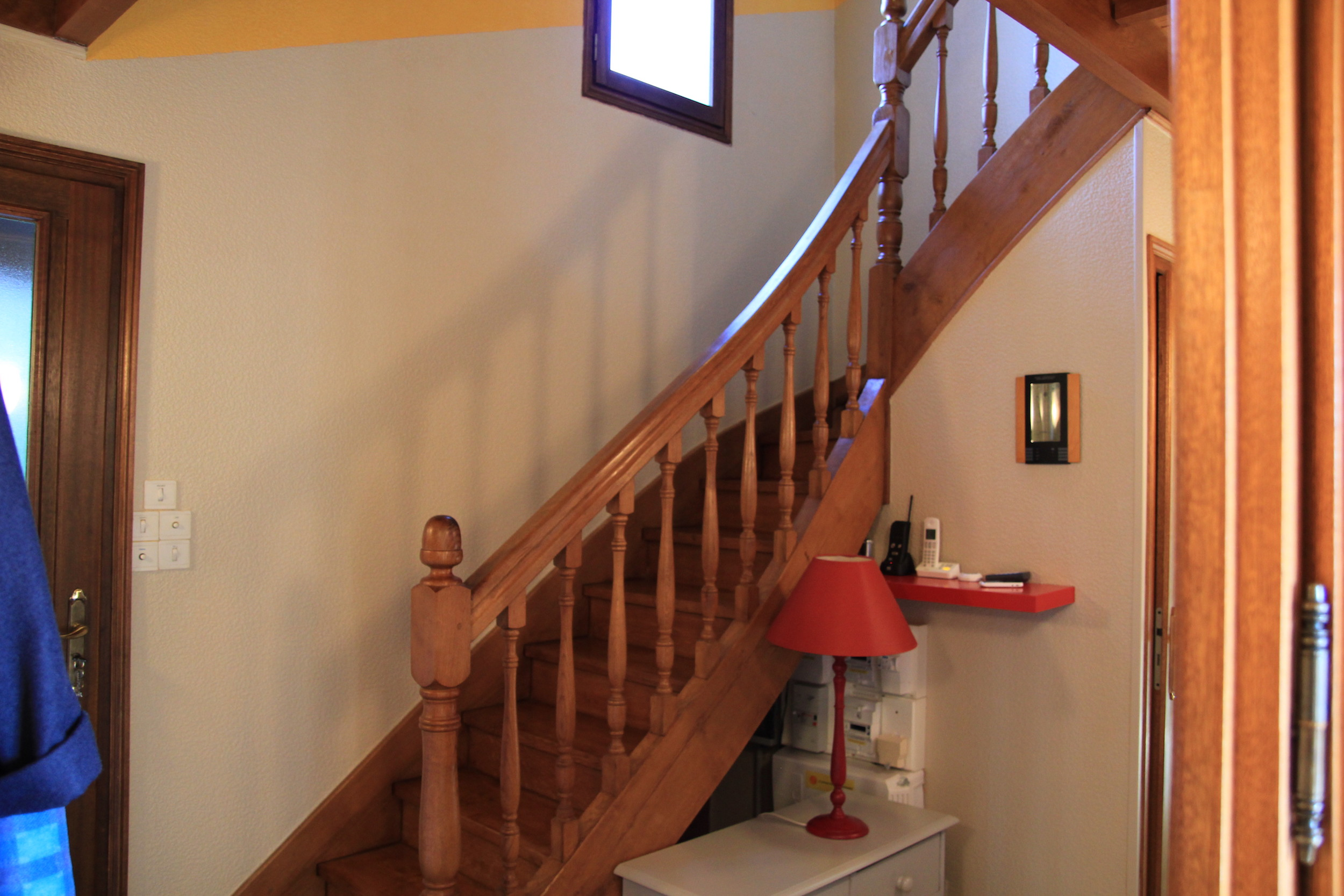 Hall et escalier