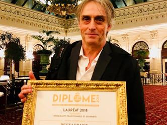 Hotel des Bains Charavines récompensé