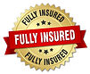 fully-insured-round-isolated-gold-badge-