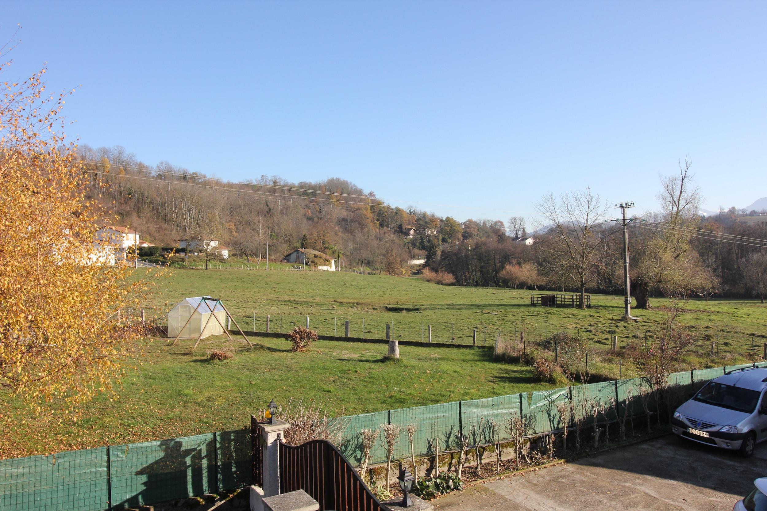 Belle vue sur la campagne