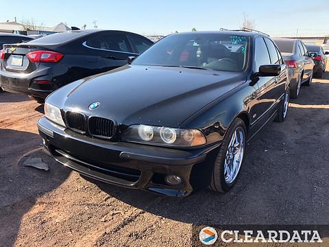 2003 BMW 5 SERIES - RUNNER